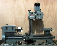 Metal Lathe with Milling Head