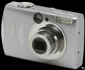 Canon PowerShot IXUS 850 IS 7.1 MP Digital Camera
