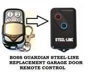 Boss Garage Door Remote