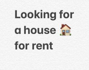 Looking for a full house for rent