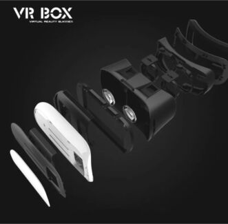 VR 2 VIRTUAL REALITY HEADSET FOR IPHONE AND SAMSUNG WORKS ON PHONES 3D