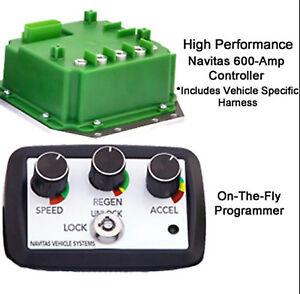 Club Car Precedent, Navitas Upgrade Controller 600 AMP