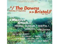 x1 ticket Massive Attack and Primal Scream Tickets @Clifton Downs, Bristol, 3rd September