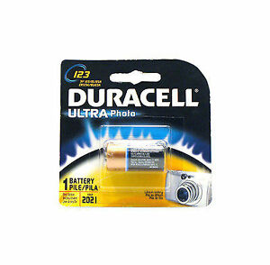 Duracell Ultra Photo 123 Battery