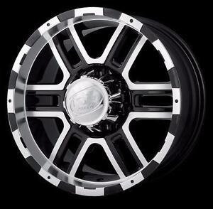 "BRAND NEW 20"" Black/Machined Ion 179 Rims! $900/set of 4 Chevy GMC 1500 Toyota 6x5.5"
