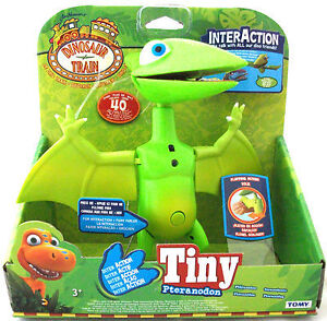 Dinosaur Train Inter Action Tiny Pteranodon Interactive Toy LC53104 Tomy - New