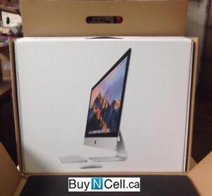 BRAND NEW SEALED APPLE iMAC RETINA 4K  3.1GHZ RETAILS $1863