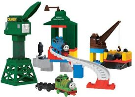 Mega Bloks Thomas and Fiends Cranky Playset