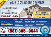 Licensed & Insured Roof Pros..Quality Work
