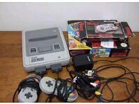 Snes console, super nintendo,Mario Paint etc LOOK!!!