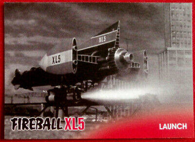 FIREBALL XL5 - Base Card #03 - LAUNCH - Gerry Anderson Collection 2017