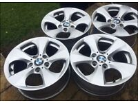 Genuine BMW Alloy Wheels - Grab A Bargain! Fits 1 & 3 Series