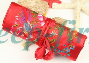 CHINESE EMBROIDERED SILK COSMETIC BAGS/jewelry bag/bag
