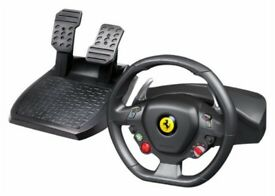 Thrustmaster F458 Racing Wheel and Pedals Xbox/PC Good Condition