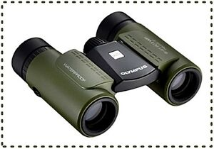 ⭆ OLYMPUS 8x21 RC II MILITARY GREEN WATERPROOF NEW BINOCULARS ✋