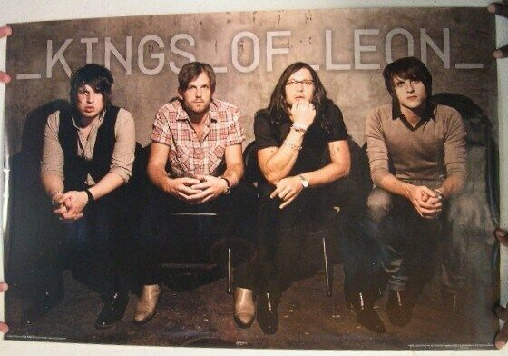 Kings Of Leon Poster Band Shot Mint
