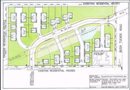 DA APPROVED LAND FOR 36 TOWNHOUSES