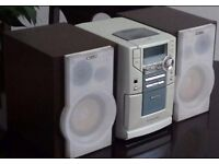 Philips Micro Hi-Fi CD Radio System MC 200 - Good Condition