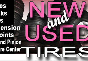 GOOD USED TIRES SALE Free installation & balance WITH 30 DAYS WA