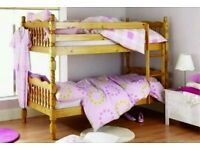 Solidwood pine bunk bed with free fitting brand new still in box