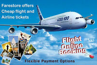 70%OFF FLIGHT TICKETS TO ANYWHERE AROUND THE GLOBE