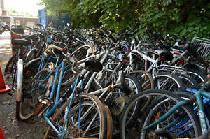 Old Bicycles on Donation
