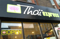 Restaurant thai express/st laurent et montroyal a vendre
