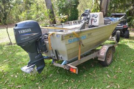 4.4m 50Hp 4 stroke  center console tinny Howard Springs Litchfield Area Preview