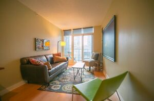 Clean condo in fabulous downtown building