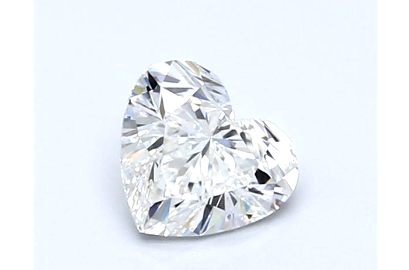 Diamond 1/2CT D SI2 Heart Shape Cut Brilliant Natural Loose GIA Certified