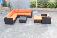 Popular Resin Wicker Patio Sectionals are back! $1849+GST