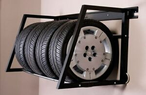 Tire Rack - Heavey Duty Wall Mount