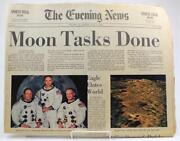 Moon Landing Newspaper