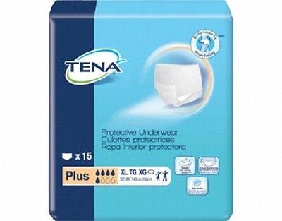 TENA Protective Underwear Plus Adult X-Large case of 60 (Adult Plus)