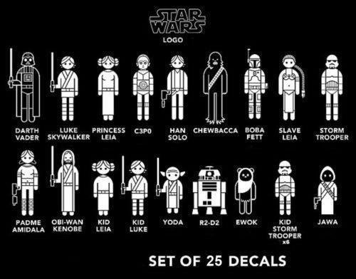 Star Wars Car Decal Ebay