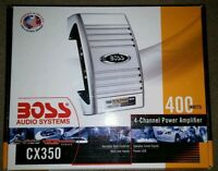 BOSS CX350 Chaos Exxtreme 4 Ch 400W Car Stereo Amplifier
