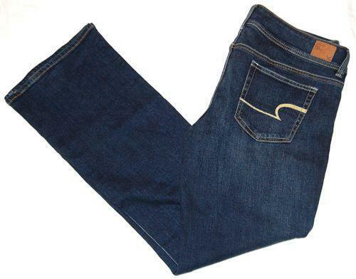 Popular American Eagle Outfitters Buttonfront Pocket Denim Jeans Womens Size 2