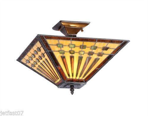 Tiffany Ceiling Lamp Ebay