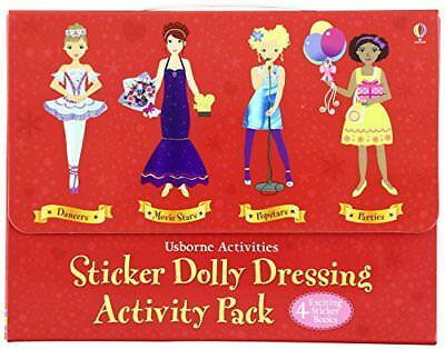 Sticker Dolly Dressing Activity Pack by Not Known Book The Fast Free - Sticker Activity Pack