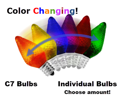 LED - Color Changing Bulbs - Refrigerator - Night Light - Ch