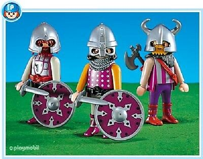 Playmobil 7772 collectors 3 Barbarians figures klicky toy NEW sealed 182