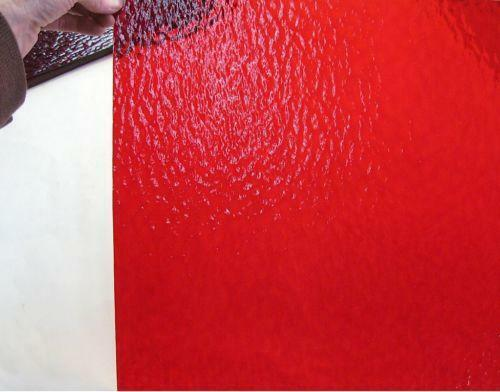 Red Stained Glass Sheet Ebay