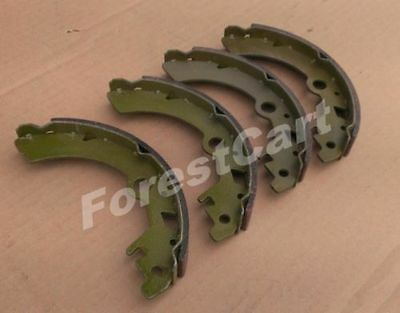 4 Pieces Brake Shoes for rear axle, Brake pad, Tomberlin Emerge 1007556 Brake Shoes 4 Piece