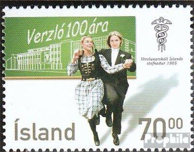 IJsland 1110 (compleet.Kwestie.) postfris MNH 2005 Commercieel