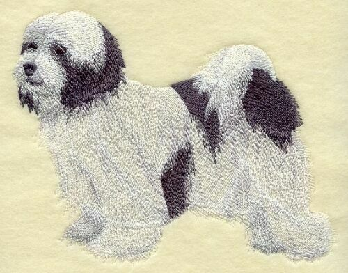 Embroidered Ladies Fleece Jacket - Tibetan Terrier C9655 Sizes S - XXL