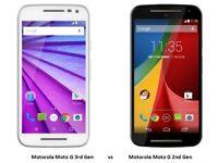 Motorola moto g 3rd gen 2nd gen - 8GB - Smartphone VARIOUS