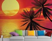 Sunset Wall Mural