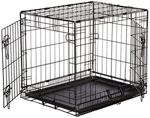 Dog Crate / Dog Kennel  with divider and 2 doors mrdockplate.ca