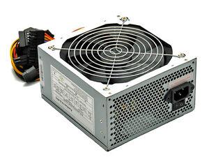580 WATT ATX PC Computer Netzteil SATA PCI-E 120mm SILENT Lüfter 12cm 20+4 Pol