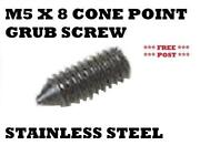 Cone Point Grub Screw